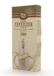 UNBLEACHED PAPER TEA FILTERS