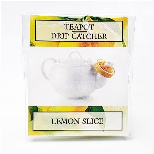TEAPOT SPOUT DRIP CATCHER - LEMON SLICE